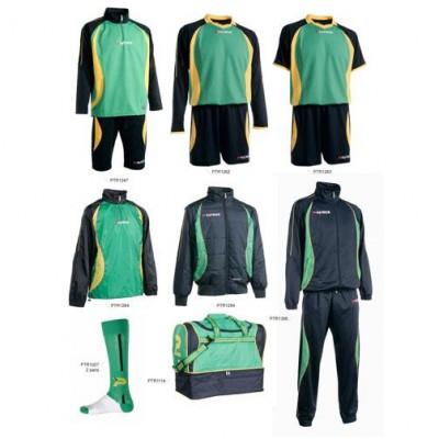 Set complet echipament fotbal Patrick Gold 030