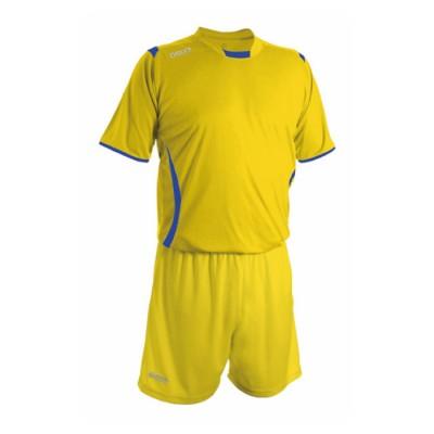 Echipament fotbal galben royal galben GECO