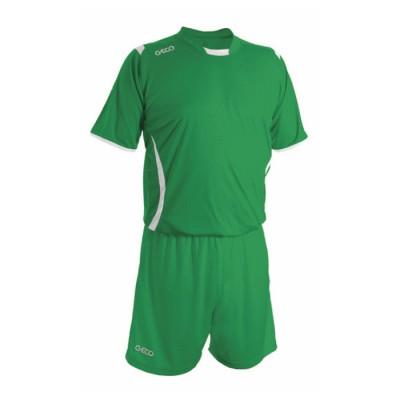 Echipament fotbal verde GECO