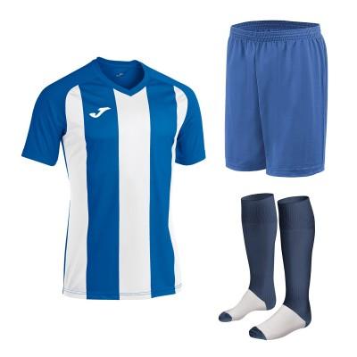 Set echipament fotbal, tricou Pisa II JOMA, sort si jambiere Concept Champion