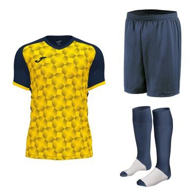 Set echipament fotbal, tricou Supernova III JOMA, sort si jambiere Concept Champion