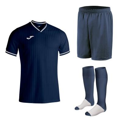 Set echipament fotbal, tricou Toletum III JOMA, sort si jambiere Concept Champion